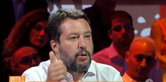 """Salvini a """"Dritto e rovescio"""""""