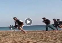 Gruppo di immigrati sbarca ad Agrigento