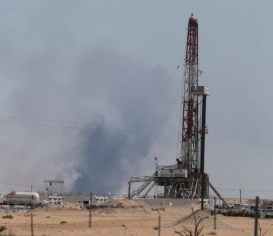 arabia saudita, impianto petrolifero