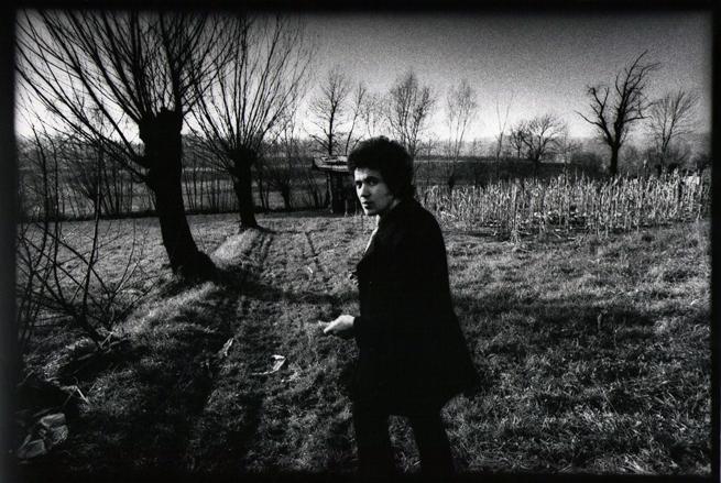Lucio Battisti in una foto di Cesare Monti