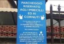 Viterbo, il cartello contro la sosta selvaggia sdegna le femministe