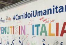 corridoi umanitari, benvenuti italia