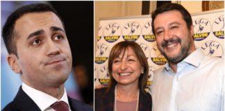 Di Maio, Tesei e Salvini in Umbria