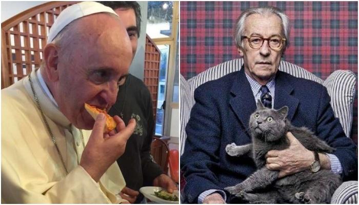 Papa Bergoglio e Vittorio Feltri