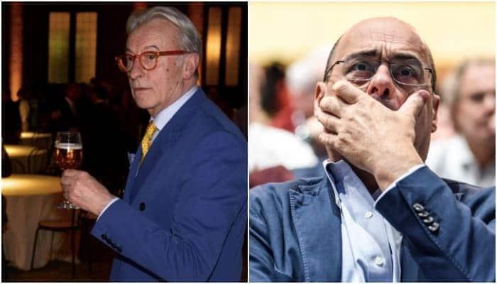 Vittorio Feltri e Nicola Zingatetti