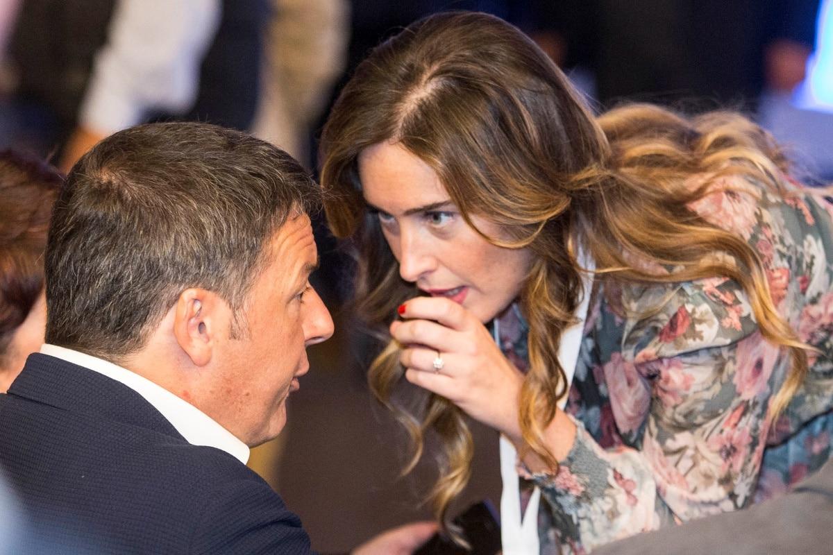 Renzi e Boschi (Italia Viva)