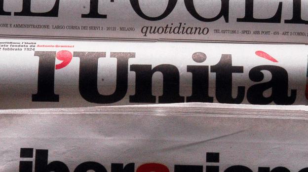 il giornale l'unità