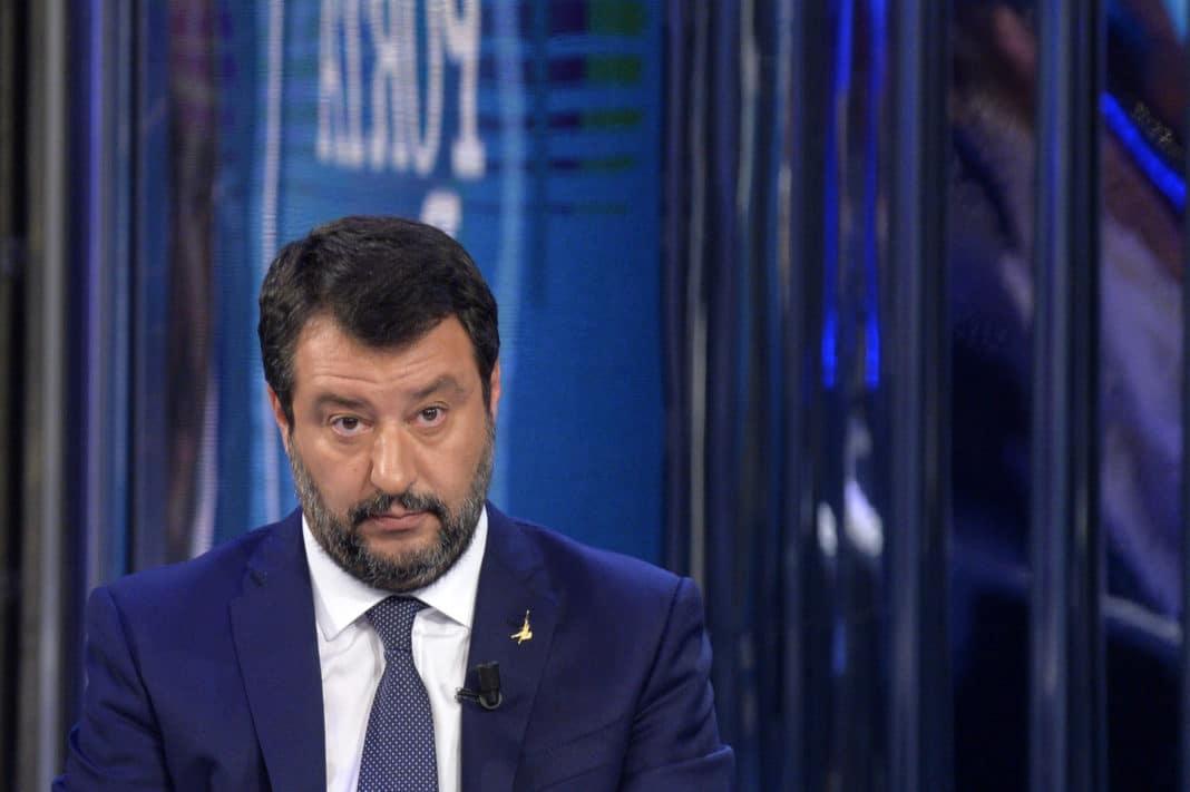 Matteo Salvini a Porta a Porta