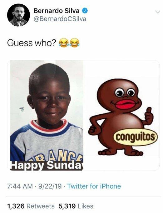 Tweet razzista di bernardo silva