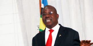 Simon Lokodo, ministro dell'Uganda