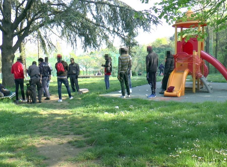 nigeriano pusher parco giochi