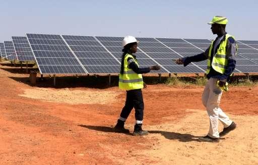 energia solare africa