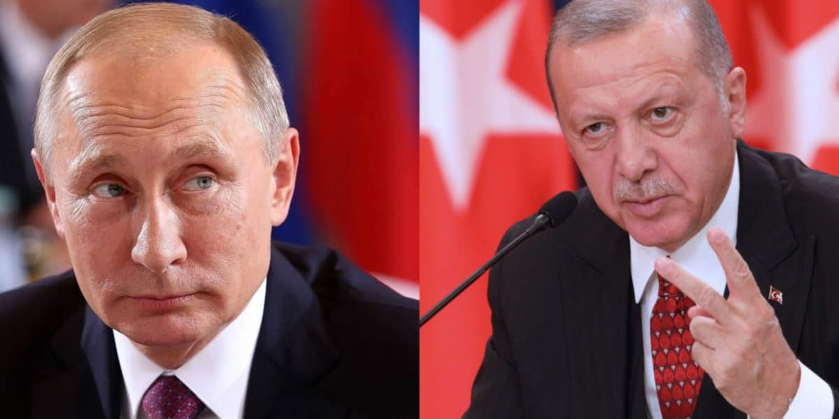 erdogan e putin, a confronto