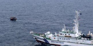giappone, scontro tra navi