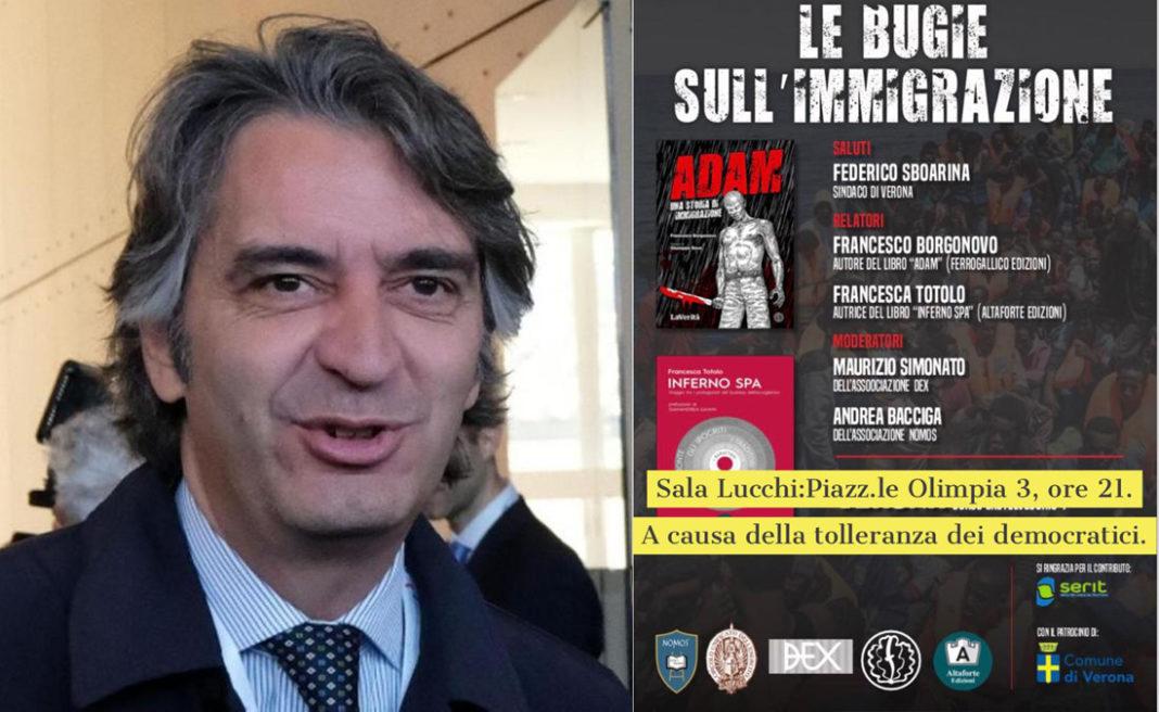 il sindaco di Verona Sboarina