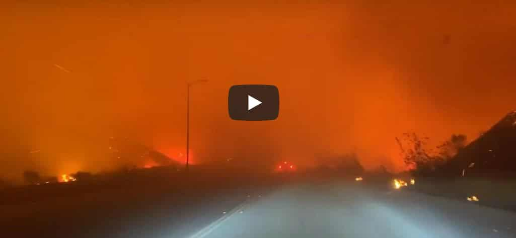 los angeles, incendio