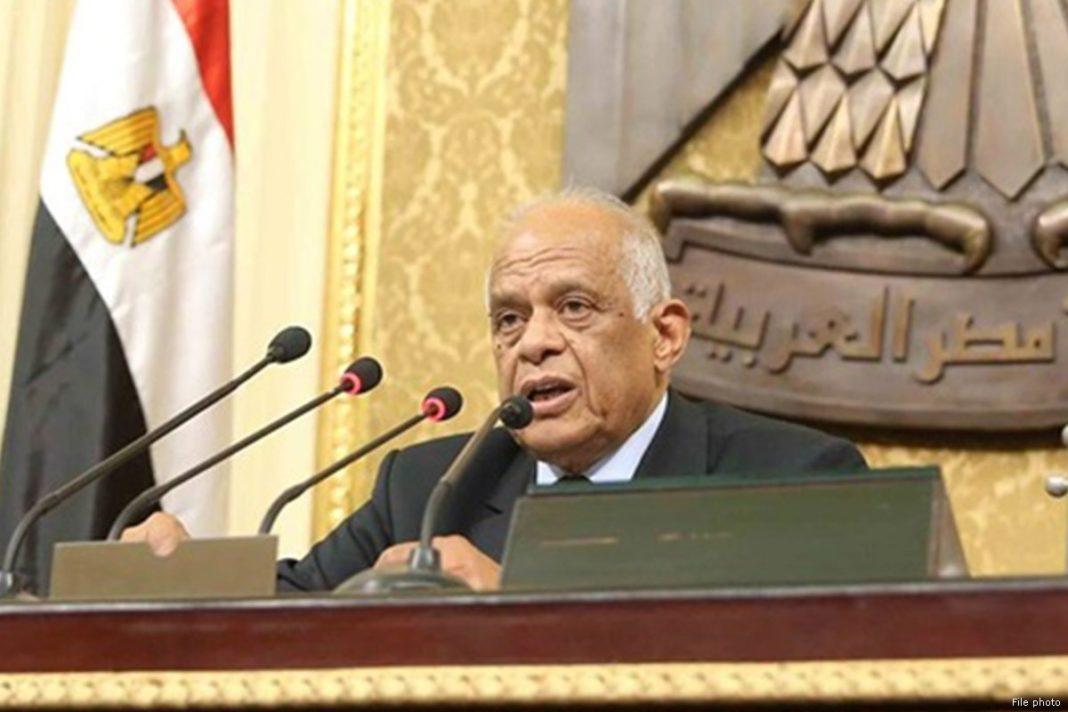 ali abdel aal, presidente parlamento egitto