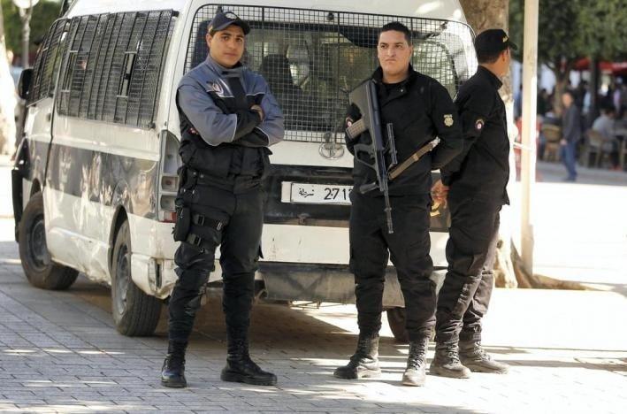 tunisia, polizia