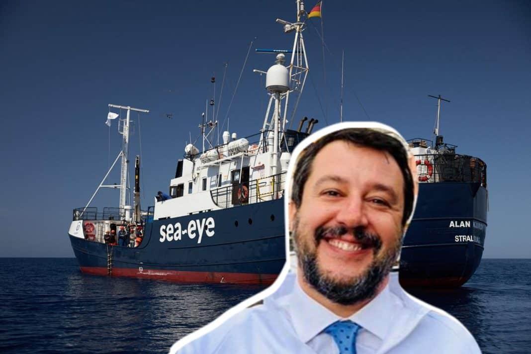 Salvini alan kurdi