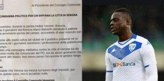 mozione Verona e Balotelli