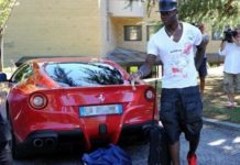 Mario Balotelli macchina