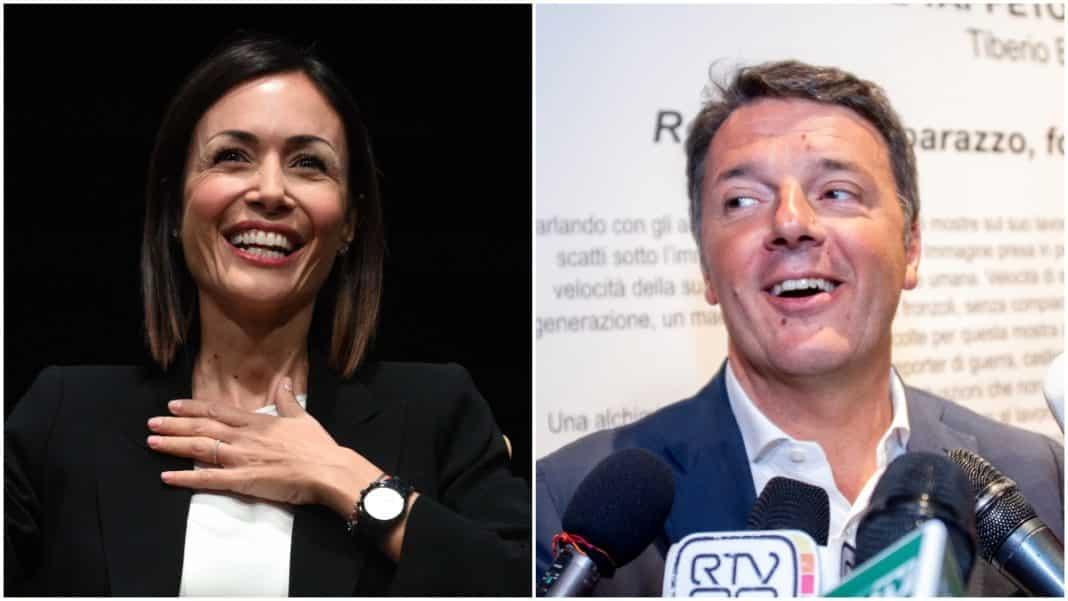 Mara Carfagna e Matteo Renzi