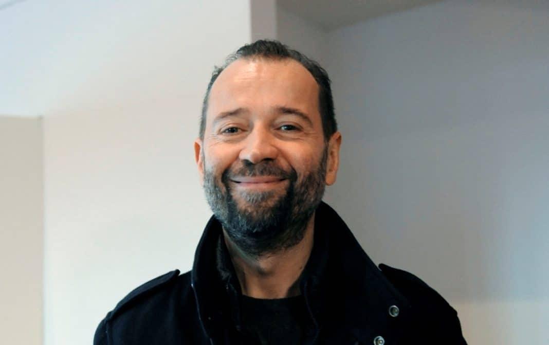 Lo scrittore Fabio Volo