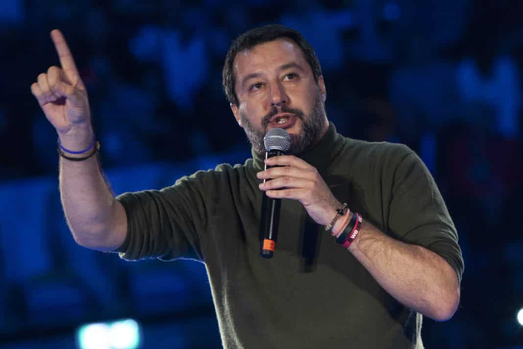 salvini open arms