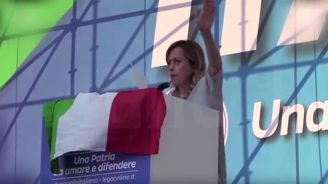 Io sono Giorgia, screen dal video