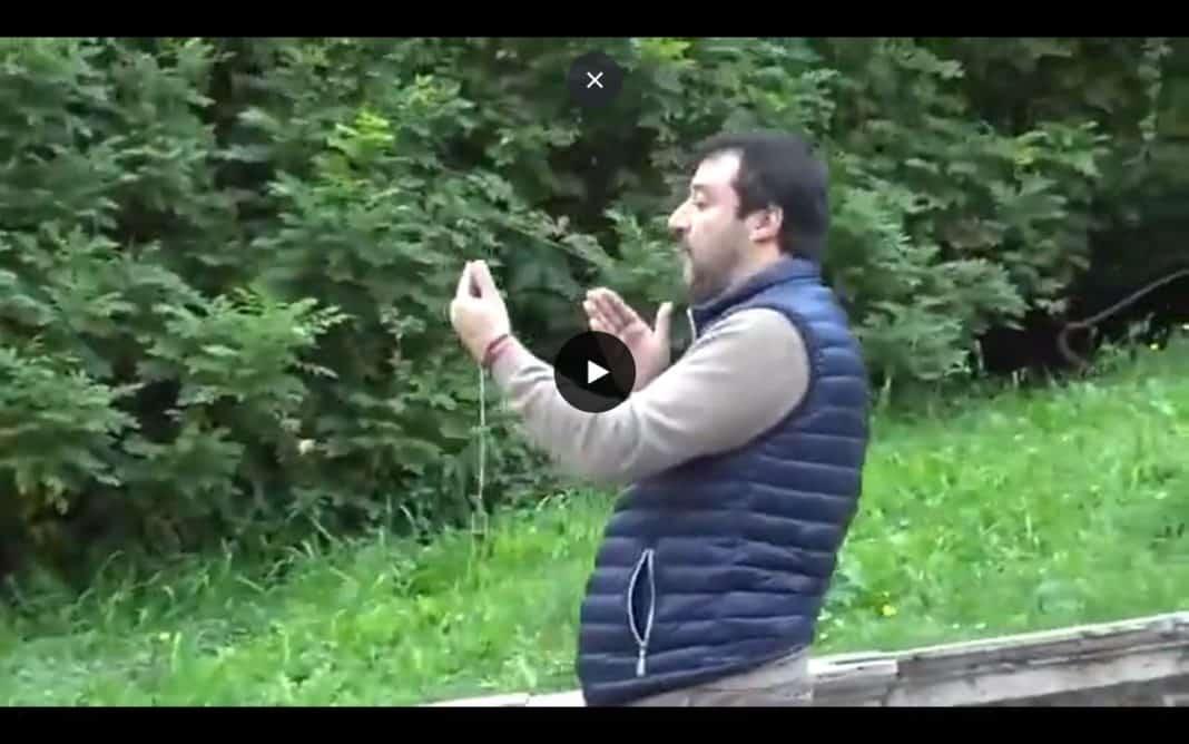 Salvini nel video della Raggi