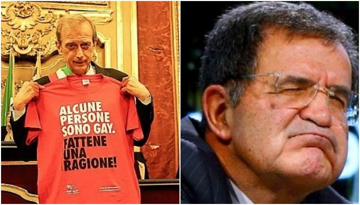 Romano Prodi e Fassino