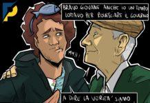 Sardine di Regime - La Vignetta di Pubble per il Primato Nazionale