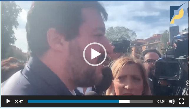 Salvini a Nuova Ostia