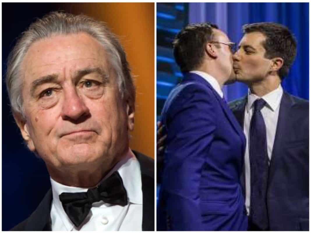 Robert De Niro e Buttigieg