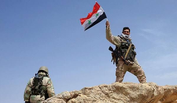 esercito siriano, bandiera