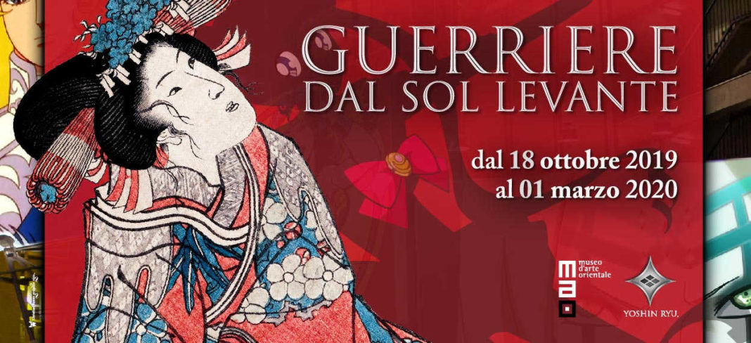 guerriere dal sol levante, mostra