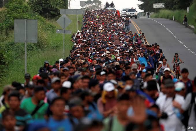 immigrati, marcia
