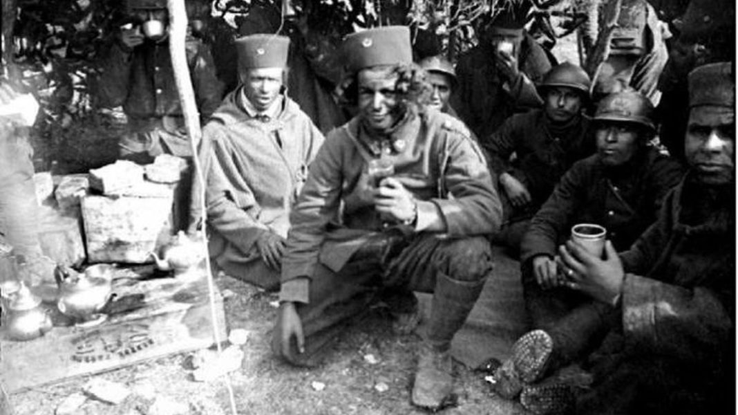marocchinate, soldati africani