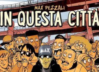 """La copertina del disco """"In questa città"""" di Zerocalcare"""