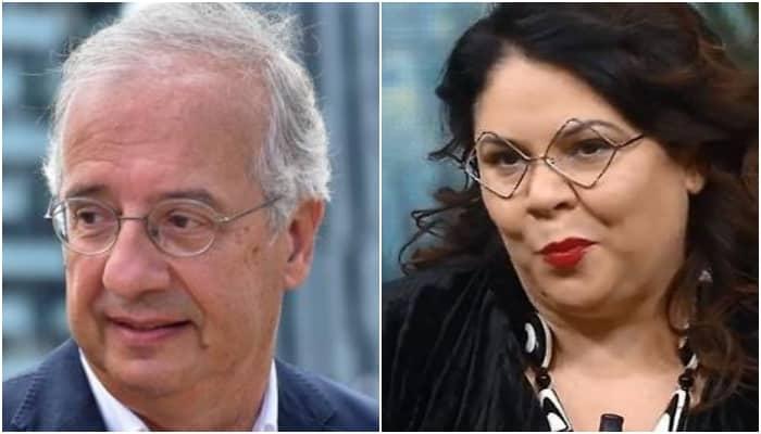 Michela Murgia e Walter Veltroni
