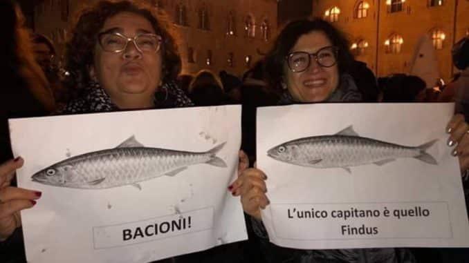 sardine, in piazza
