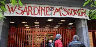 sardine nel centro sociale