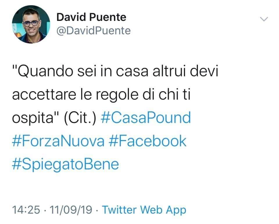 David Puente spiegato bene
