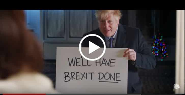 Boris Johnson fa parodia di Love Actually