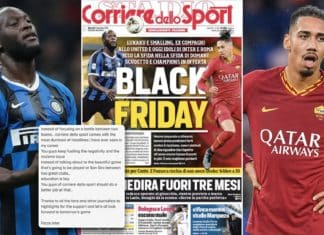 Titolo Corriere dello Sport