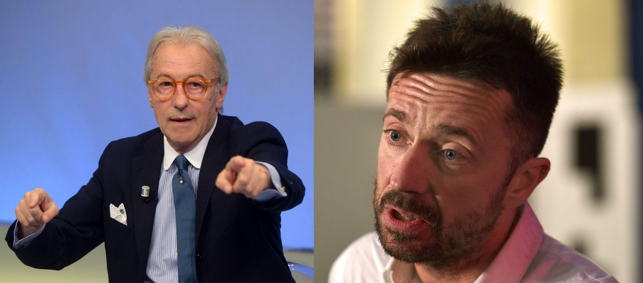 Vittorio Feltri vs Andrea Scanzi