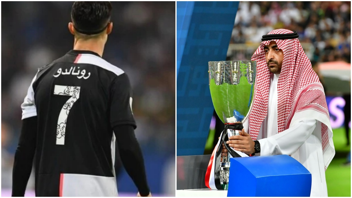 La Juve gioca Supercoppa con nomi arabi