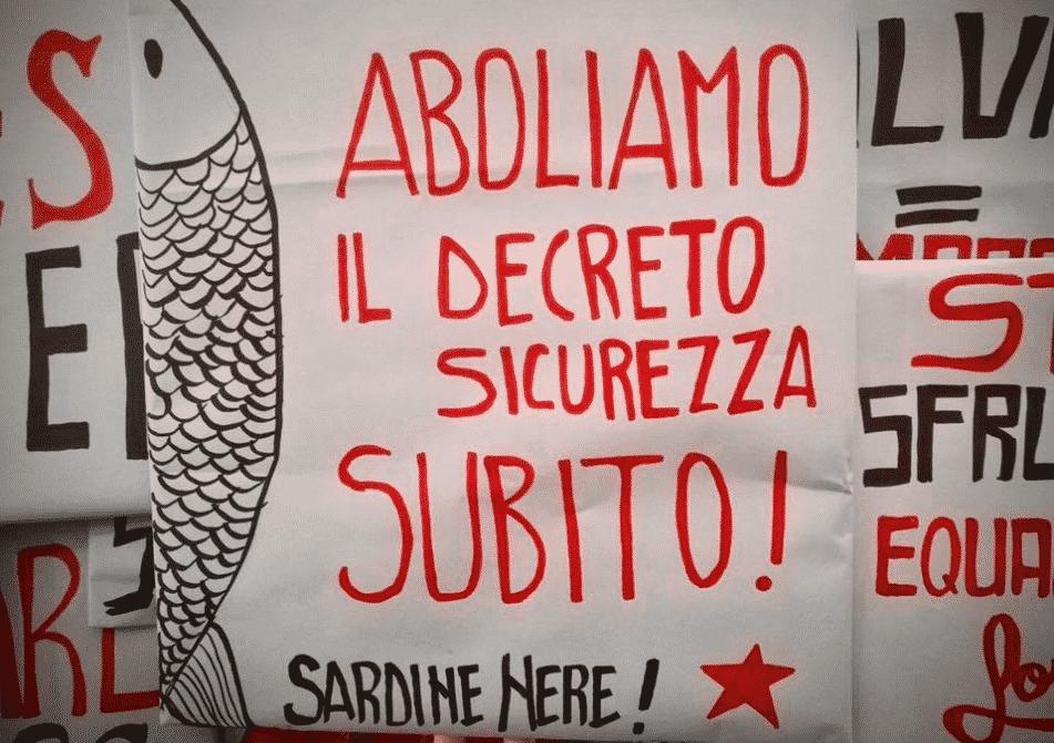 sardine nere