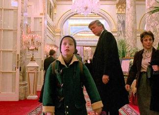 Donald Trump e Macaulay Culkin