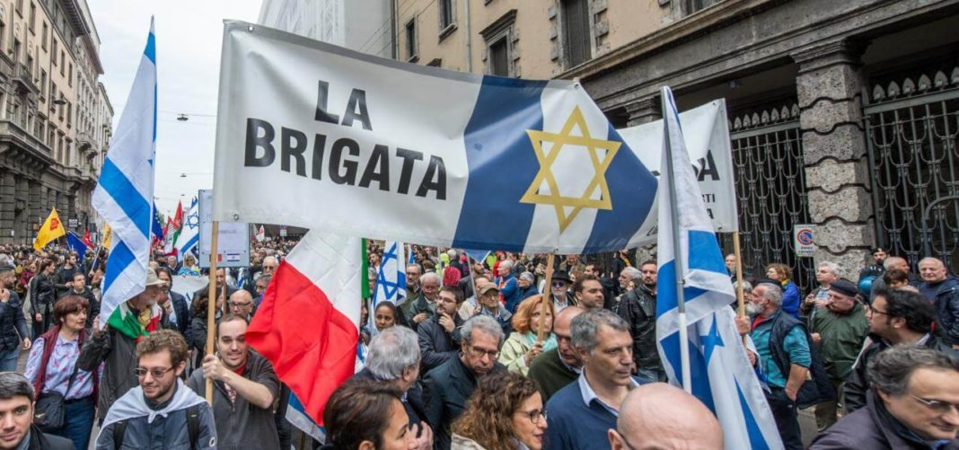 Brigata Ebraica, corteo 25 aprile